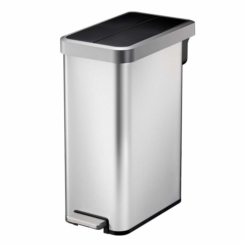 best dual garbage can