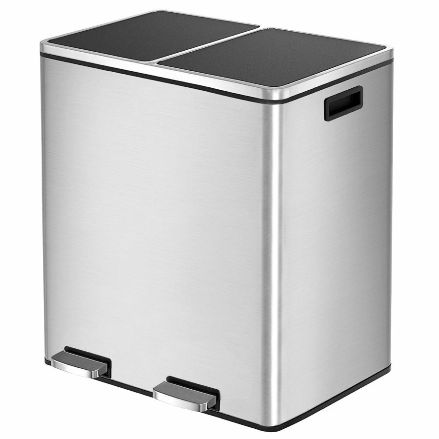 hembor dual trash can