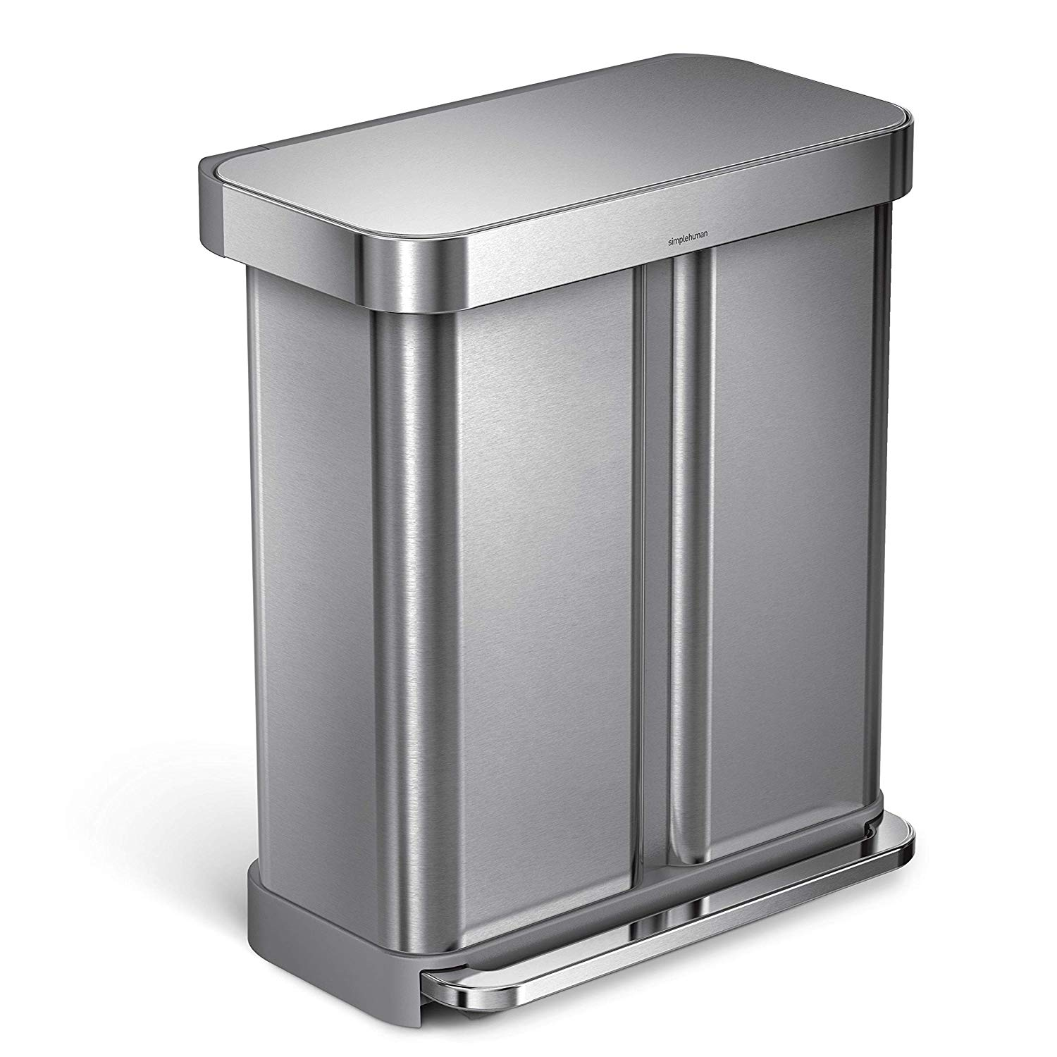 Best Dual Compartment Trash Can with Steel Pedal Reviews