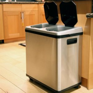 best dual trash can with wheels reviews