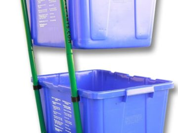 Best Dual Trash Can Cart Reviews
