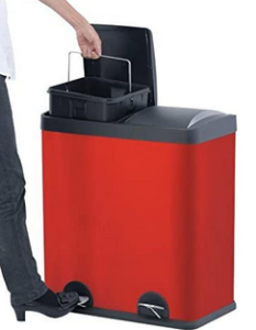 Step N' Sort Dual Compartment Trash Can