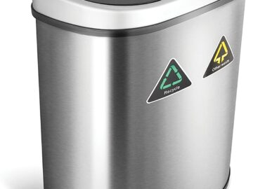 Best 18 Gallon Trash Can with Motion Sensor