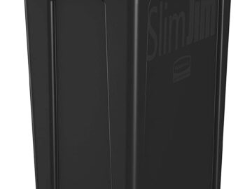 Slim Jim 23 Gallon Trash Can with Venting Channels Review