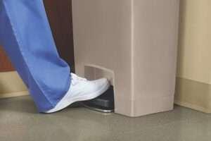 Convenient foot pedal