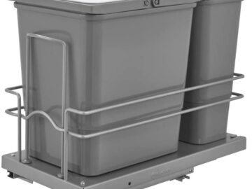 Rev-A-Shelf Dual Pull Out Waste Container