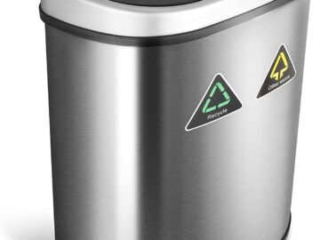 Best Stainless Steel Dual Compartment Trash Can Review