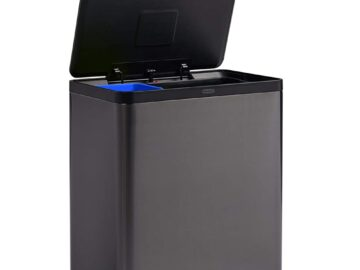 Rubbermaid Elite Dual Stream Step-On Trash Can Review