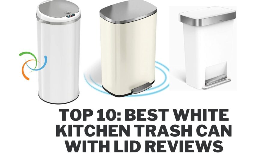 Best White Kitchen Trash Can with Lid Reviews