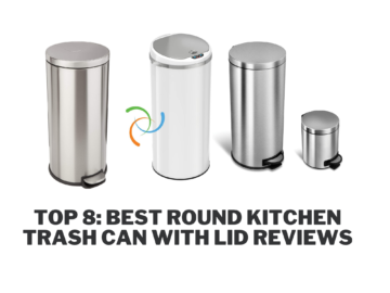 Best Round Kitchen Trash Can with Lid Reviews