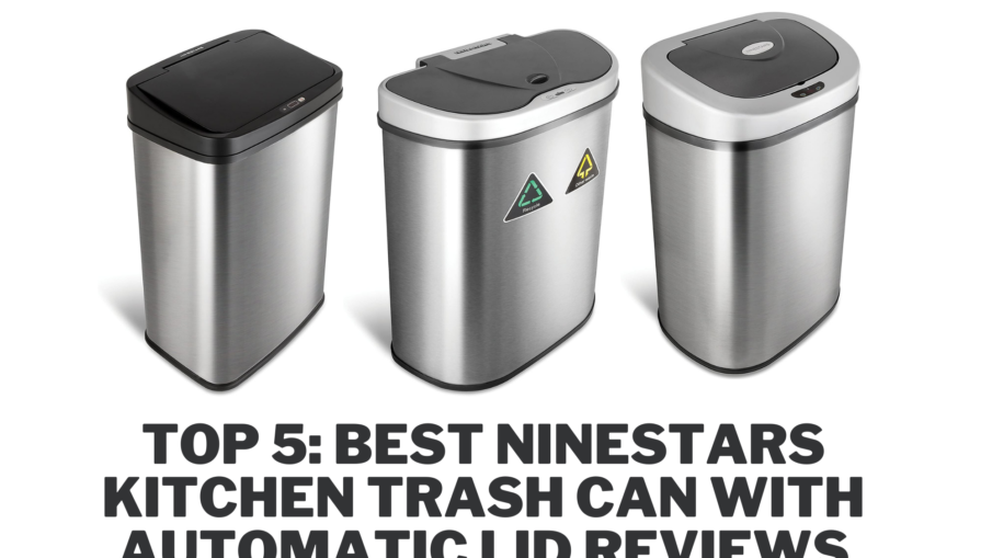 Best Ninestars Kitchen Trash Can with Automatic Lid Reviews